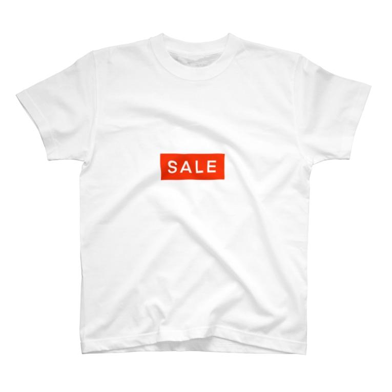 chinjyu no moriのショップのセールで見るやつ T-shirts