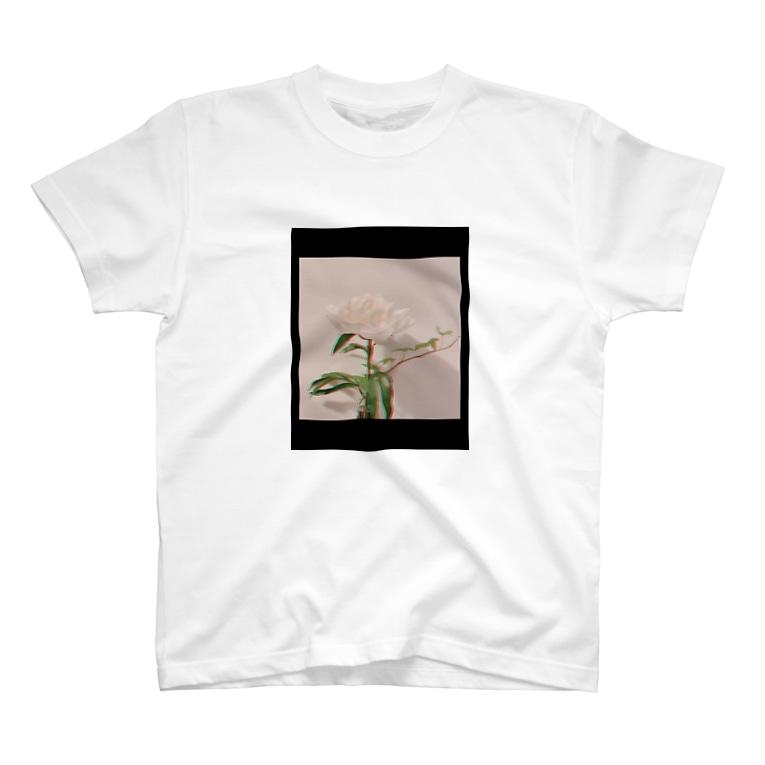 nicoのしゃくやくさんとアイビーちゃん T-shirts