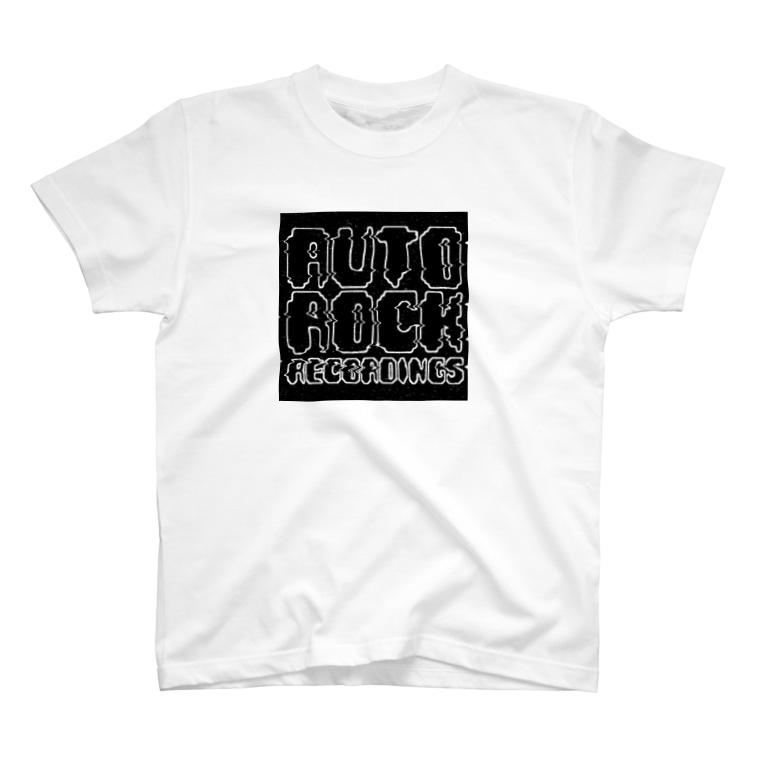 autorockwearのオートロックロゴ T-shirts