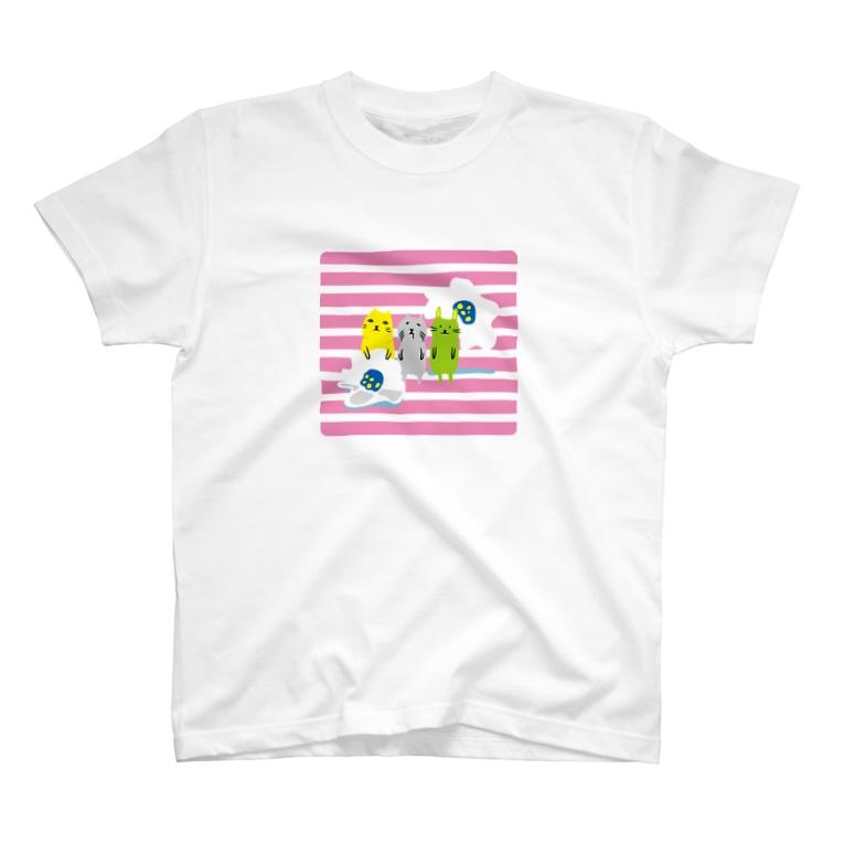 TMRの小屋のかみのこどもたちPOP T-shirts