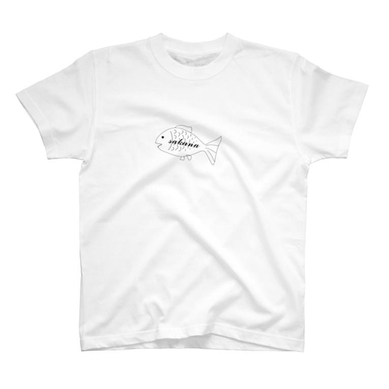 みm8のお魚T T-shirts