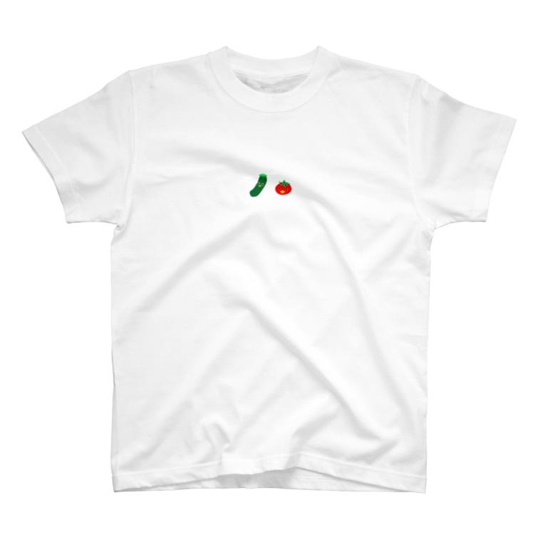 妖怪ちゃんのお野菜カッパちゃん T-shirts