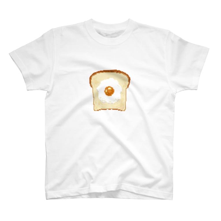 m!tsu shopの食パンドット T-shirts