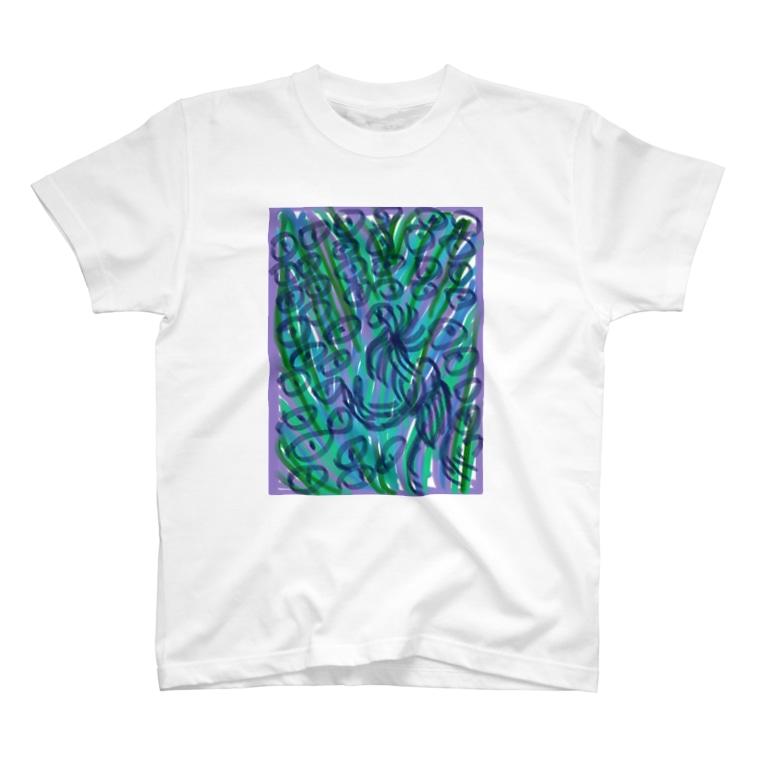kasayasanのeye T-shirts