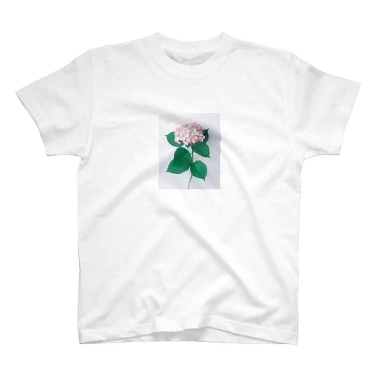 クツナ ノリコの花_1 T-shirts