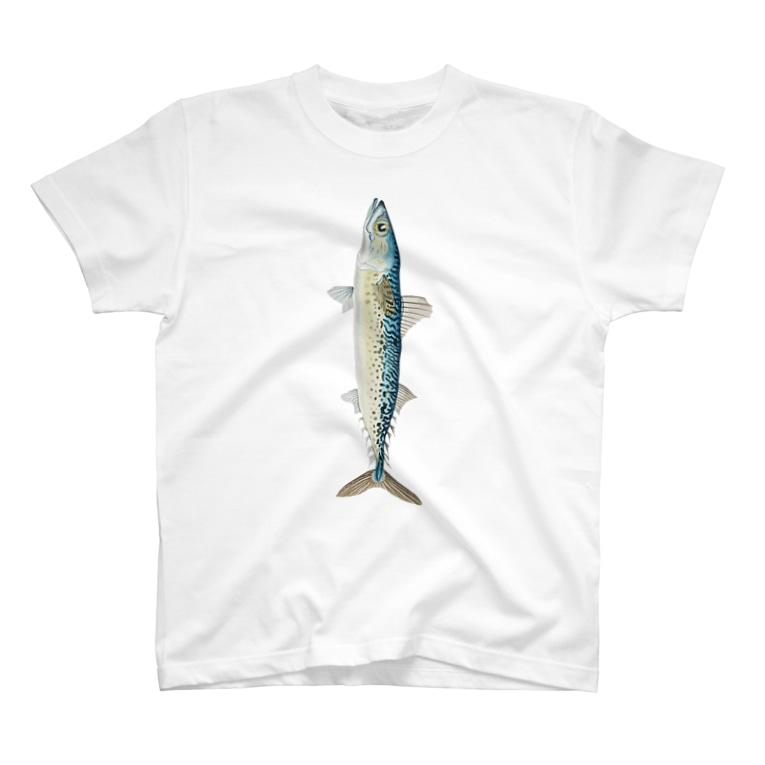 ttyarswのフィッシュ T-shirts