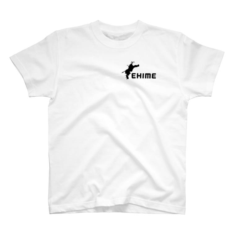 ムゲンワープの愛媛Tシャツ T-shirts