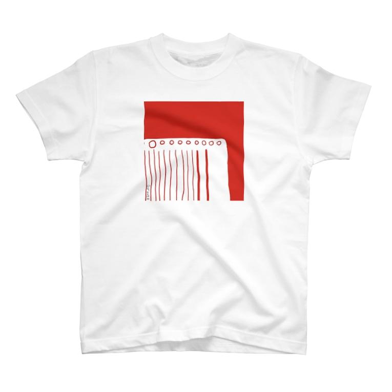 aruneのルーズリーフ T-shirts