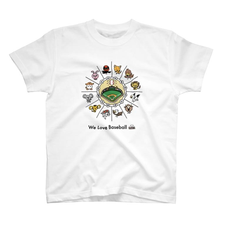 BASEBALL LOVERS CLOTHINGの「野球が大好きだ」 T-shirts