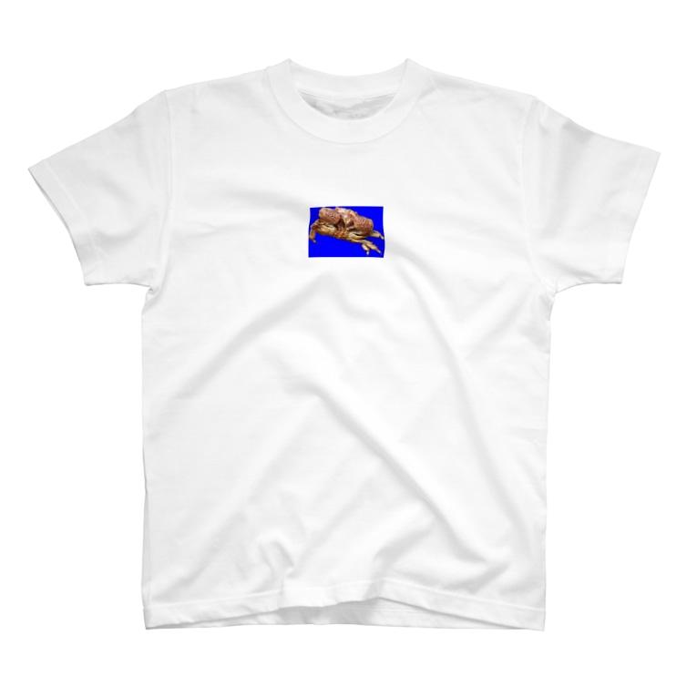 shimaの隠岐 ヘリトリマンジュウガニ T-shirts