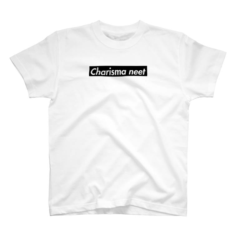 カリスマニートのCharisma neet ブラックボックス T-shirts