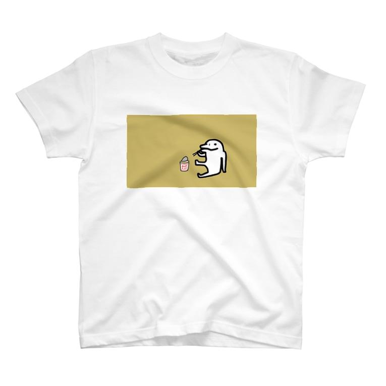 イルカニソゲソの【イルカニソゲソ】哀愁漂う T-shirts