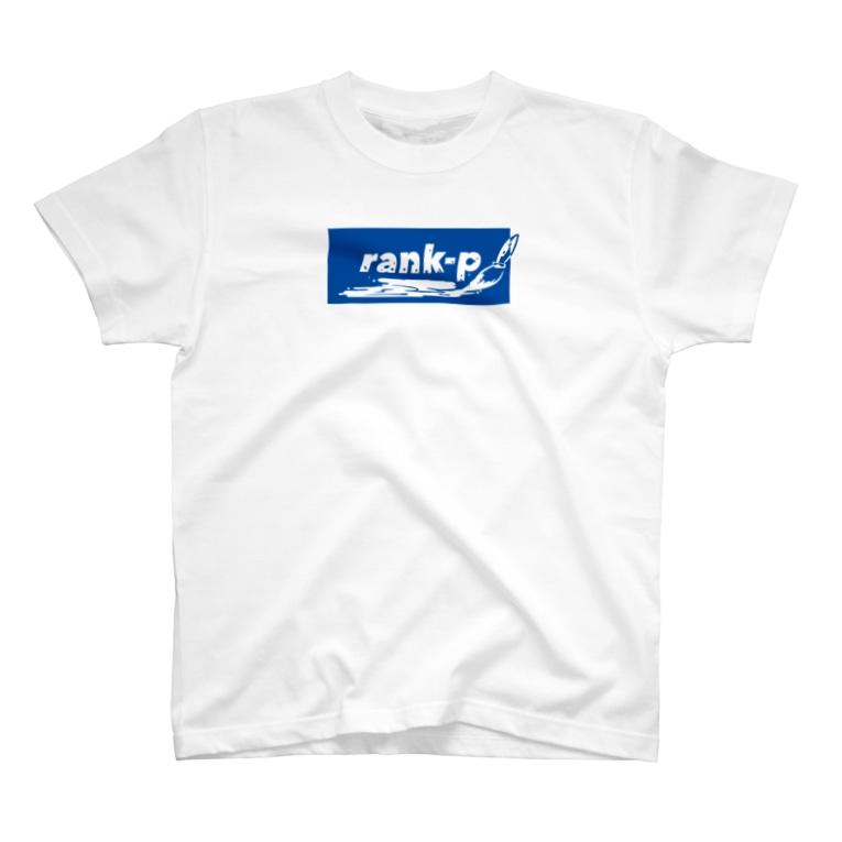 リプヲのrank-p Tシャツ T-shirts