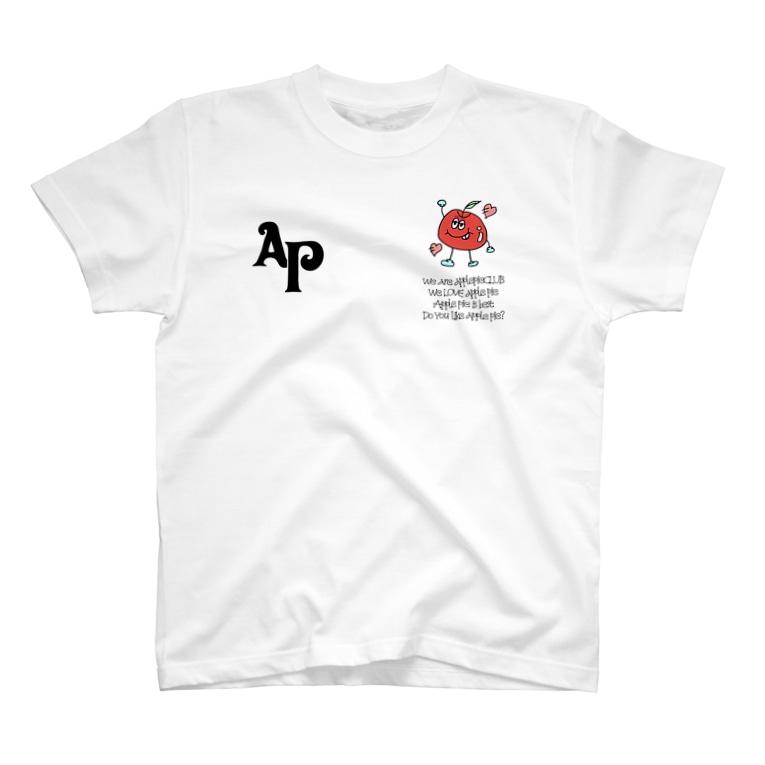 蜂のアップルパイラブラブTシャツ T-shirts