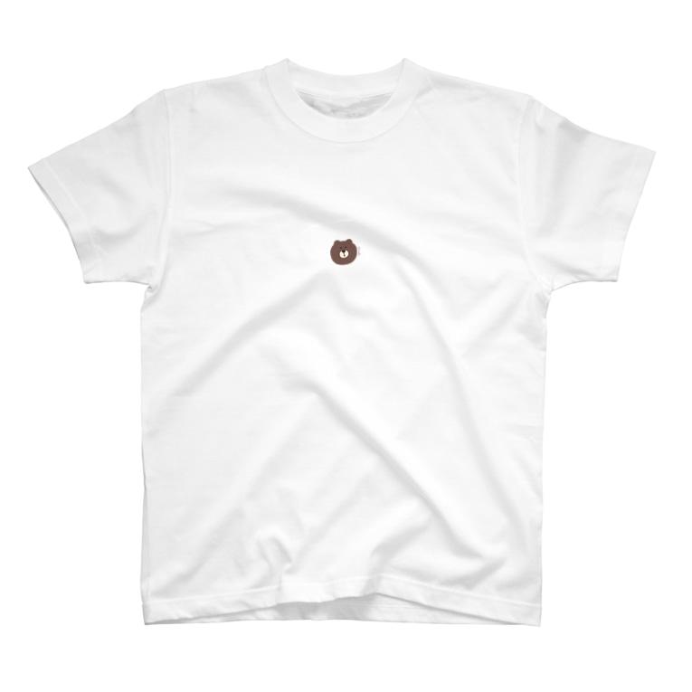 y u z u h o .のくま T-shirts
