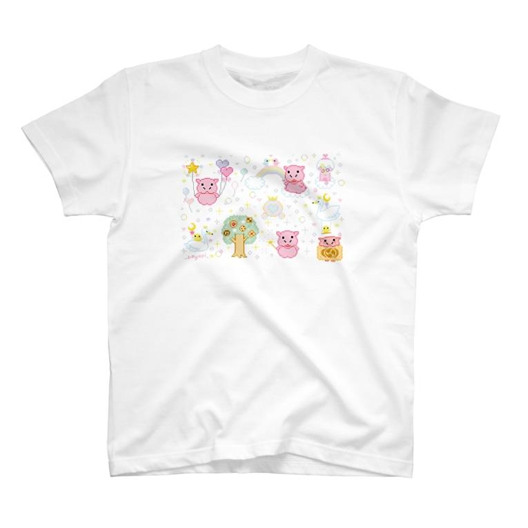 カバコレのDOTS KABA T-shirts