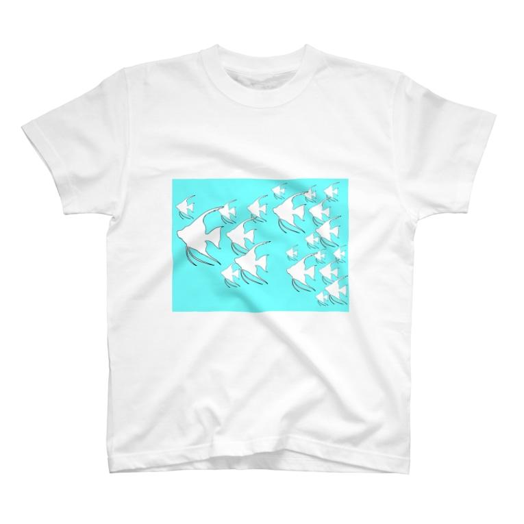らむず屋の真夏のエンゼル T-shirts