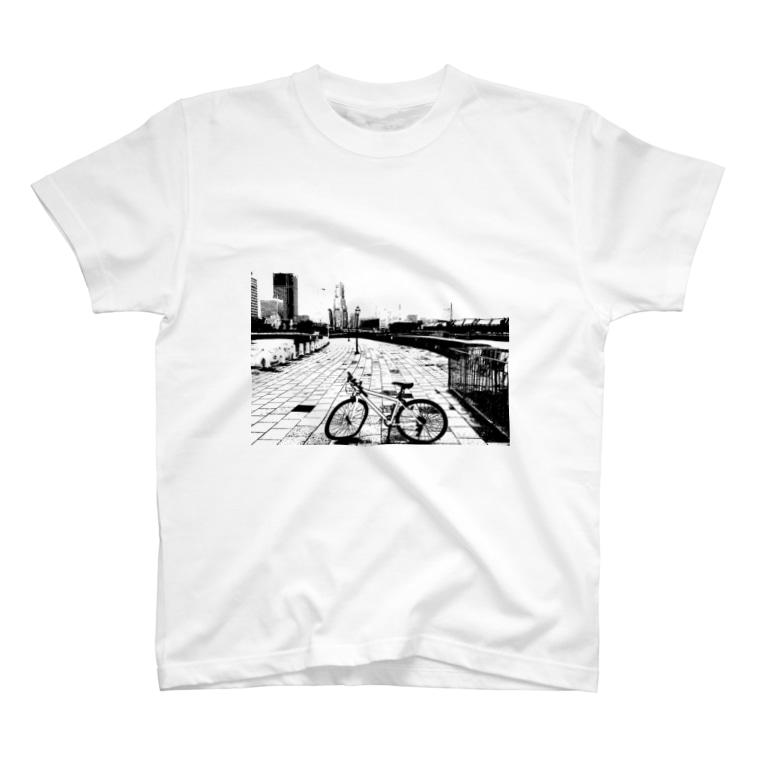 Madridの横浜Bicycle T-shirts