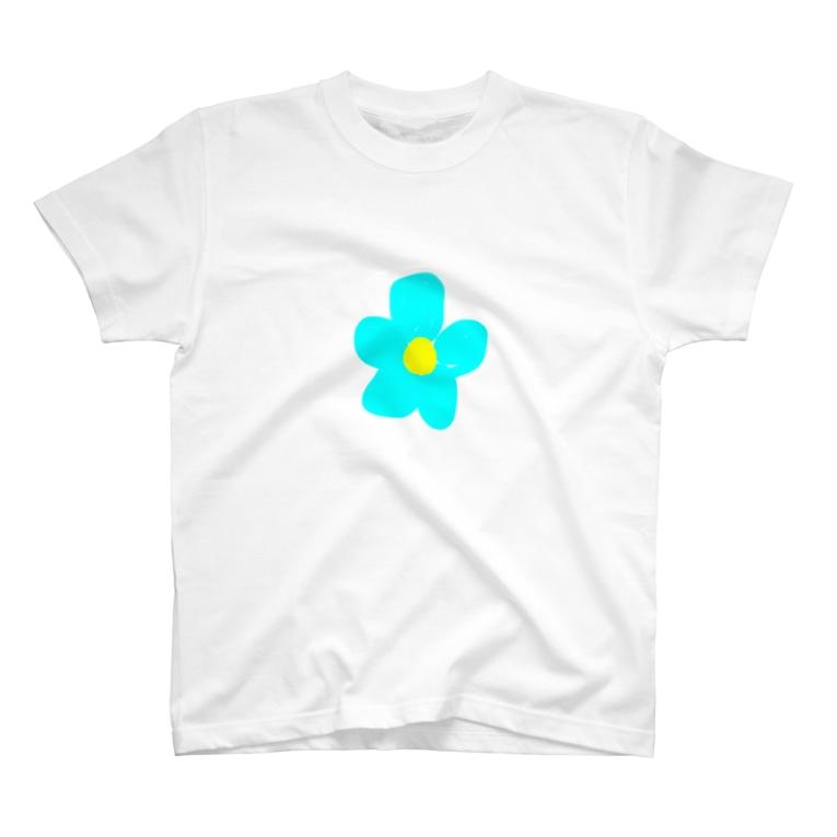 yuukanoaの花柄爽やか T-shirts