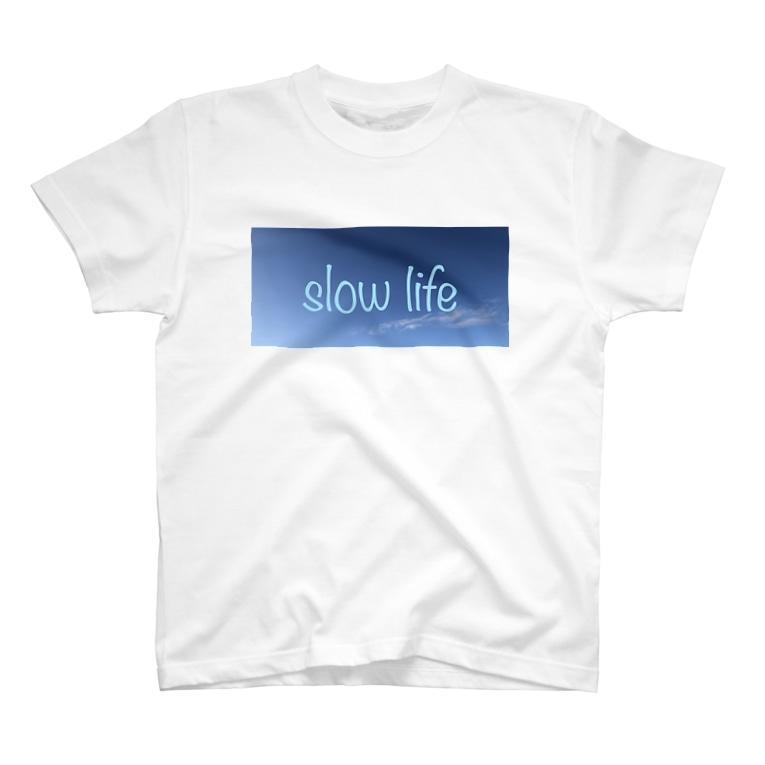 かずのすけ。のスローライフ T-shirts
