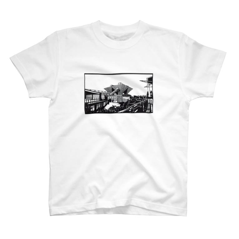 syo_31の東京ビックサイト02 T-shirts