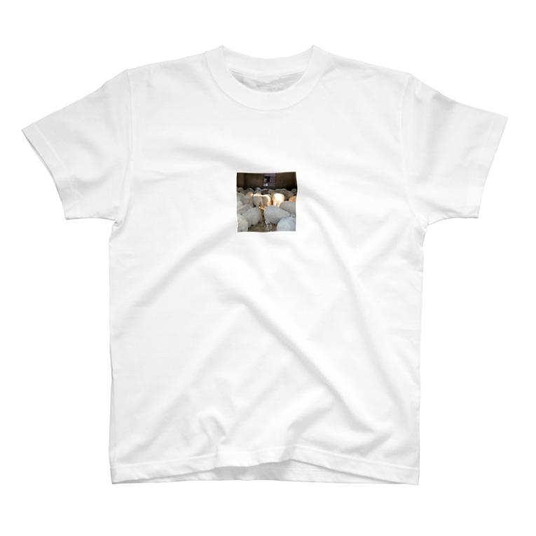 00_mountainfootのぷりぷりひつじ T-shirts