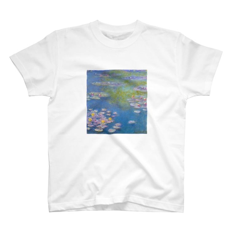 Art Baseのクロード・モネ / 1908 / Water Lilies / Claude Monet T-shirts