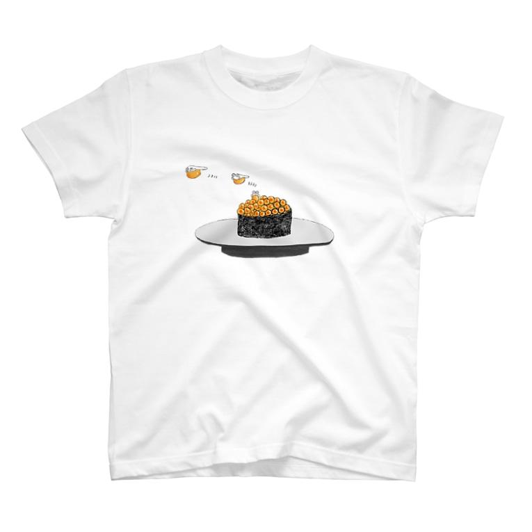 shop-rのぷくぷくイクラちゃん T-shirts