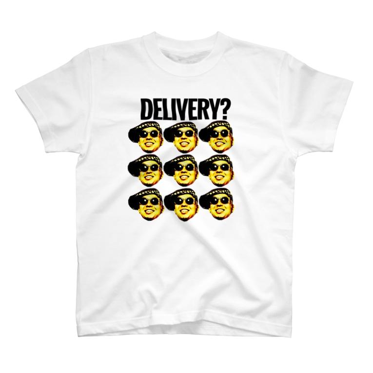 【公式】デリバリーシステムグッズの「顔爆」シリーズ T-Shirt