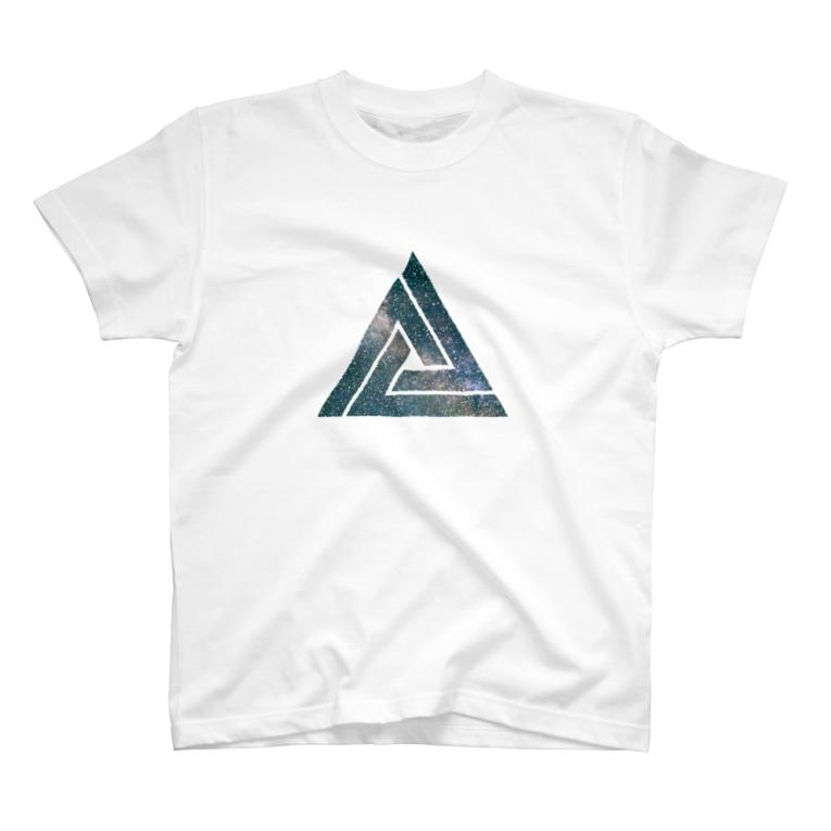 ノリTのtriangle-space T-shirts