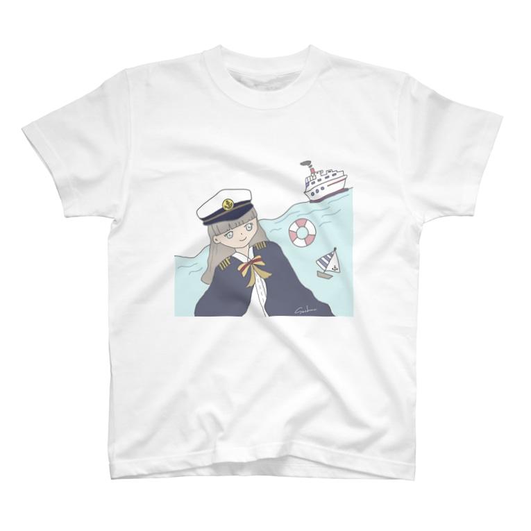 SachunのCaptain Sachun T-shirts