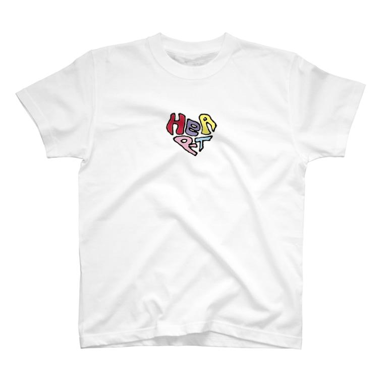 maplesのHEART T-shirts