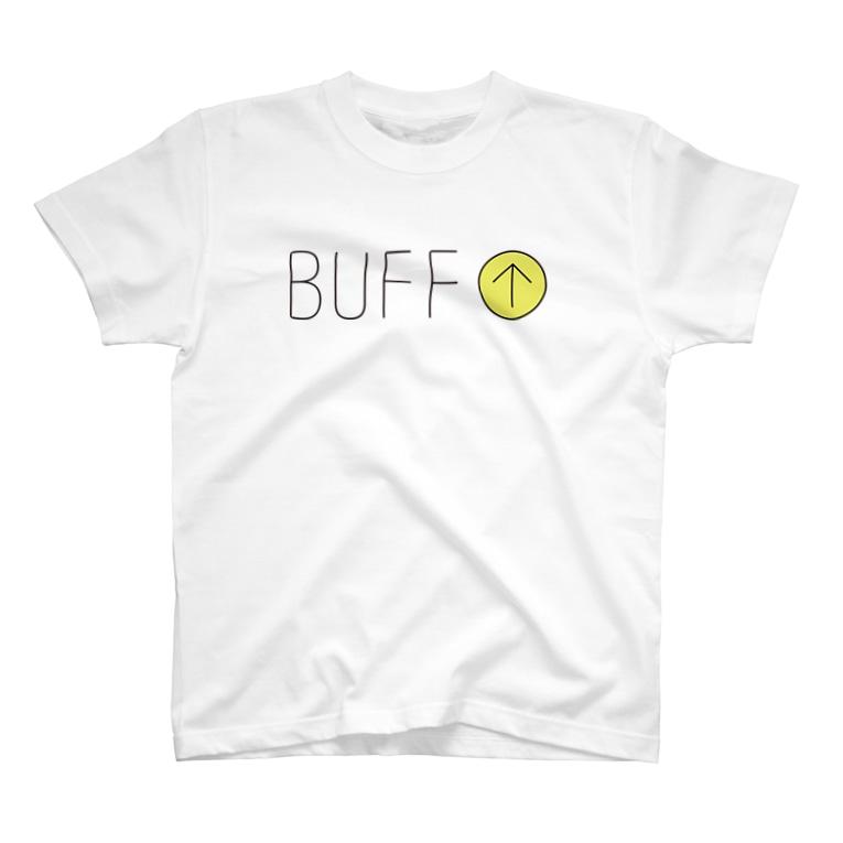 BUFF-BOYのGAME-バフ効果 T-shirts
