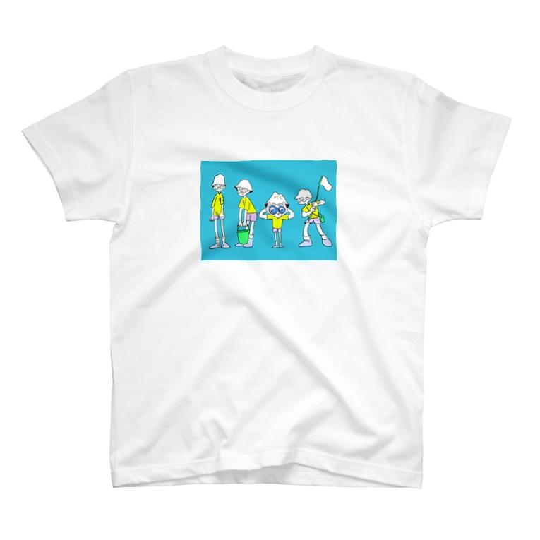 レオン堂のSummer camp T-shirts