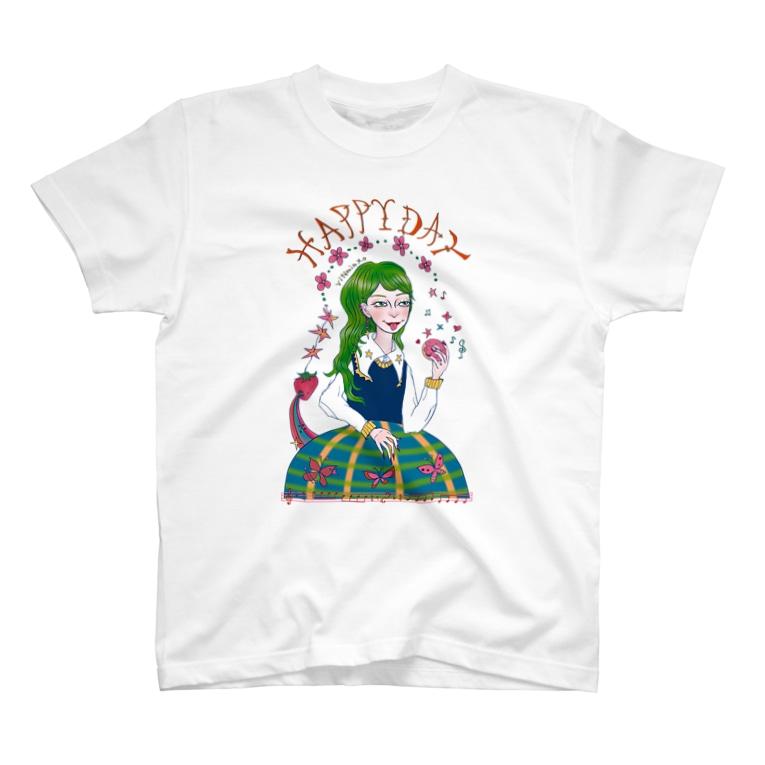 vitamin.x.oのhappy🦖🌼 T-shirts