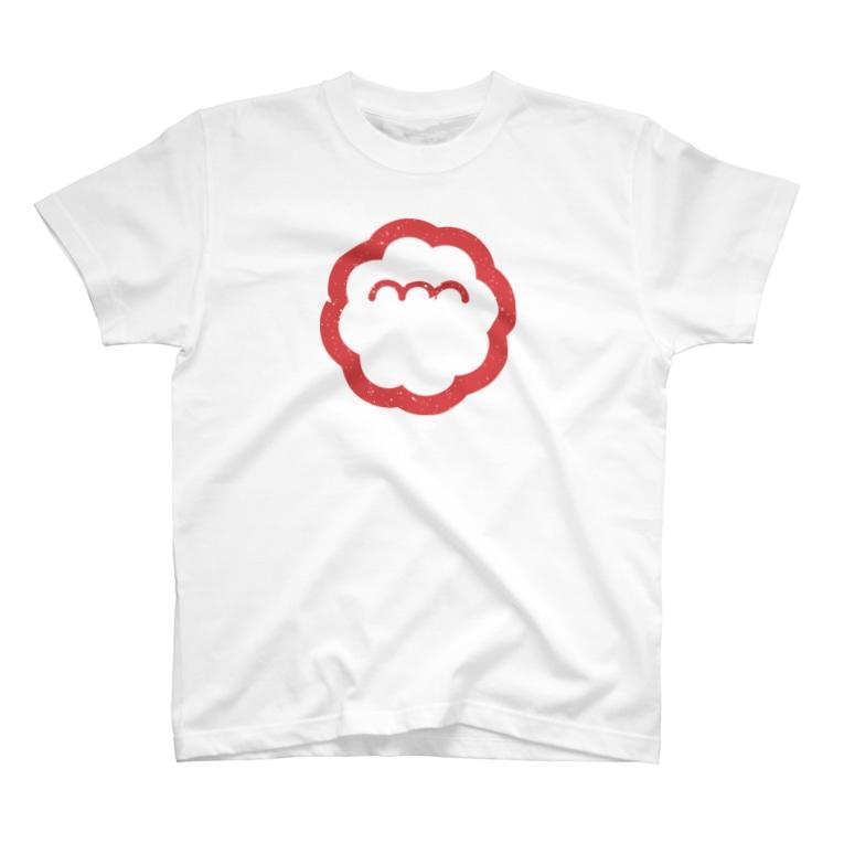 エンエンラのエンエンラ シンボルロゴ(赤) T-shirts