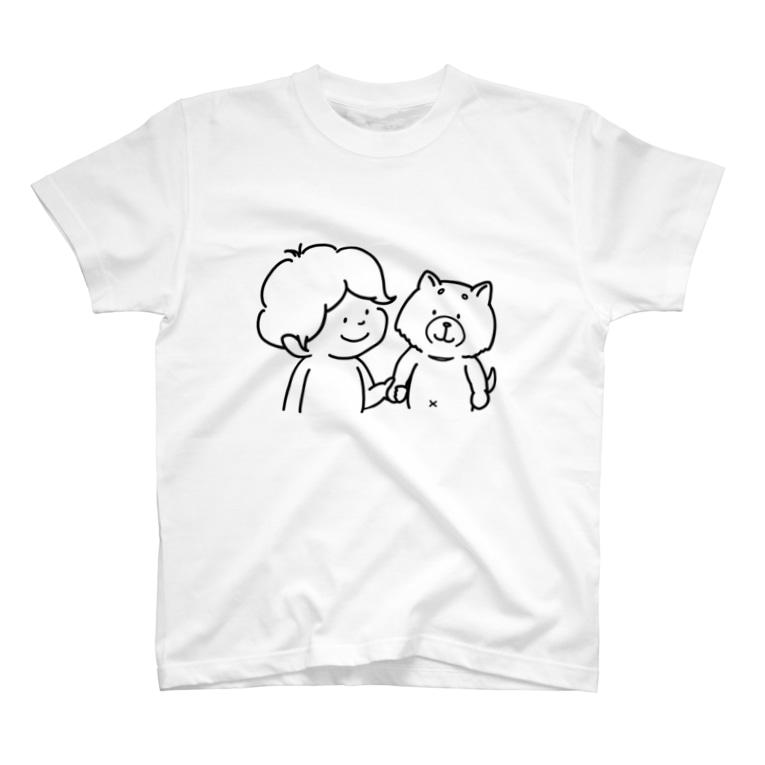 _t__r_o_o_m_のゴンちゃんとぼく T-shirts