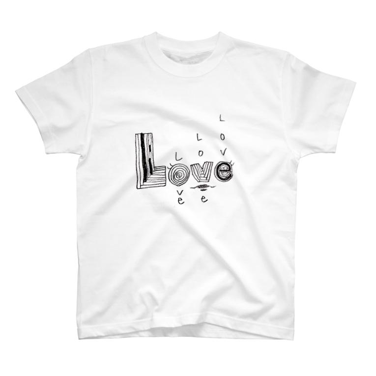 aska_mmの愛と嘘 T-shirts