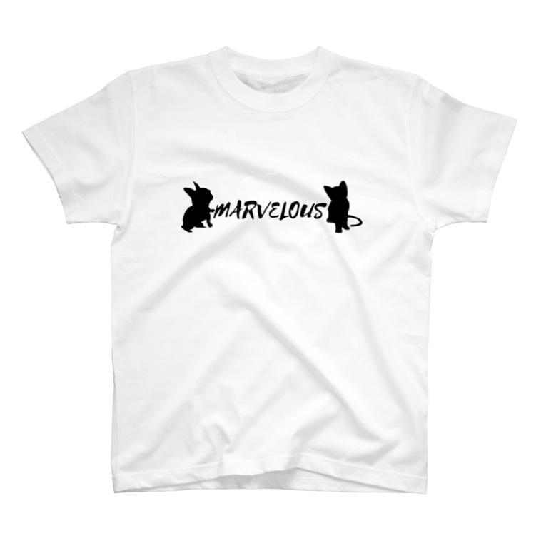 門倉 凛のMARVELOUS コラボ T-Shirt