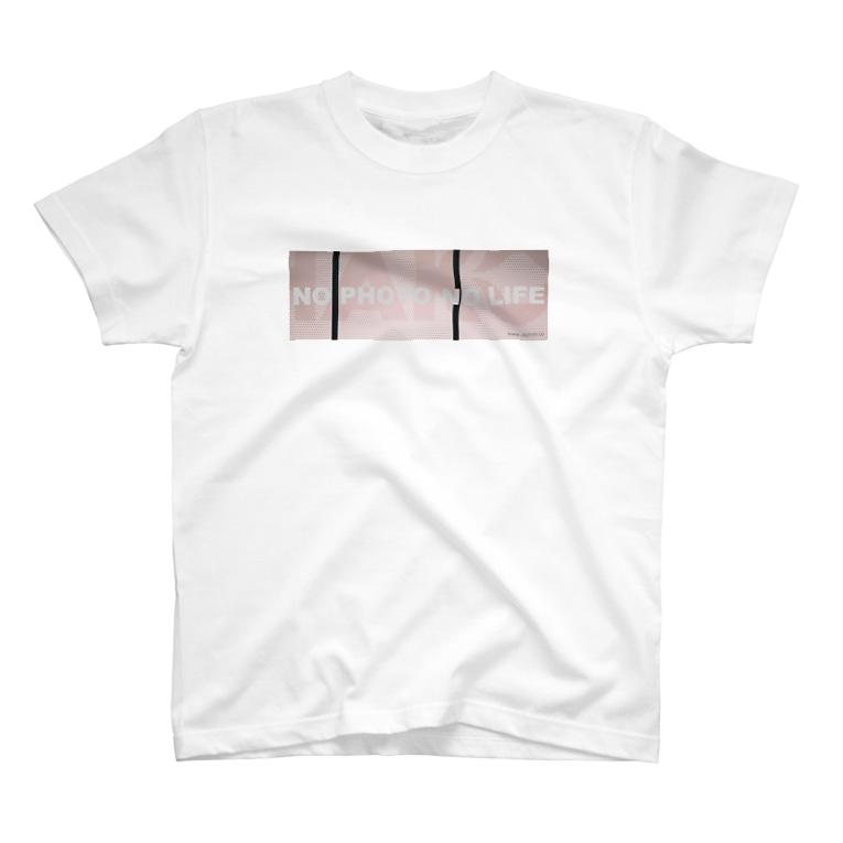 ukphotoのNO PHOTO NO LIFE T-shirts