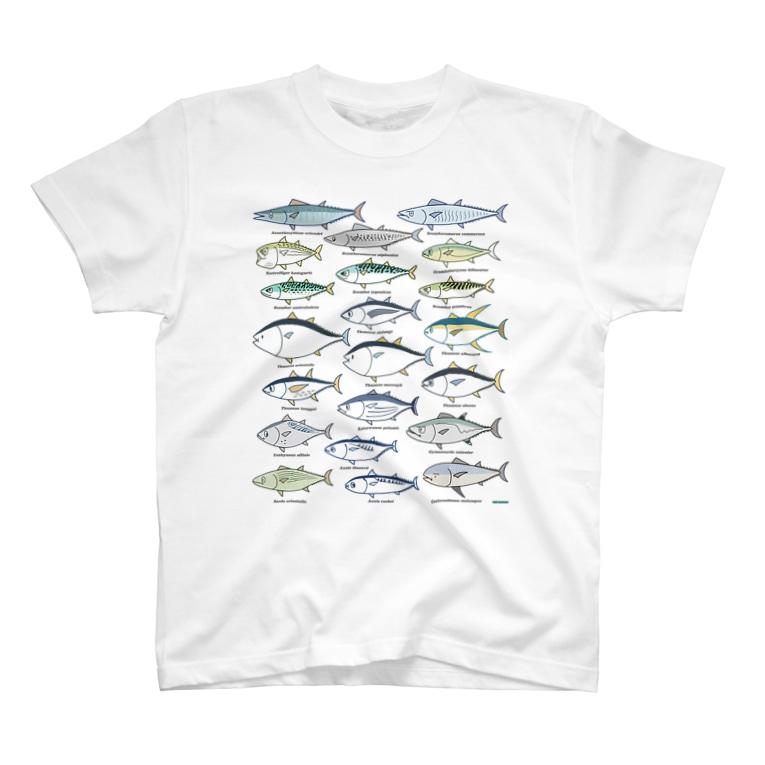 幻想水系branch byいずもり・ようのScombrids(color) T-shirts