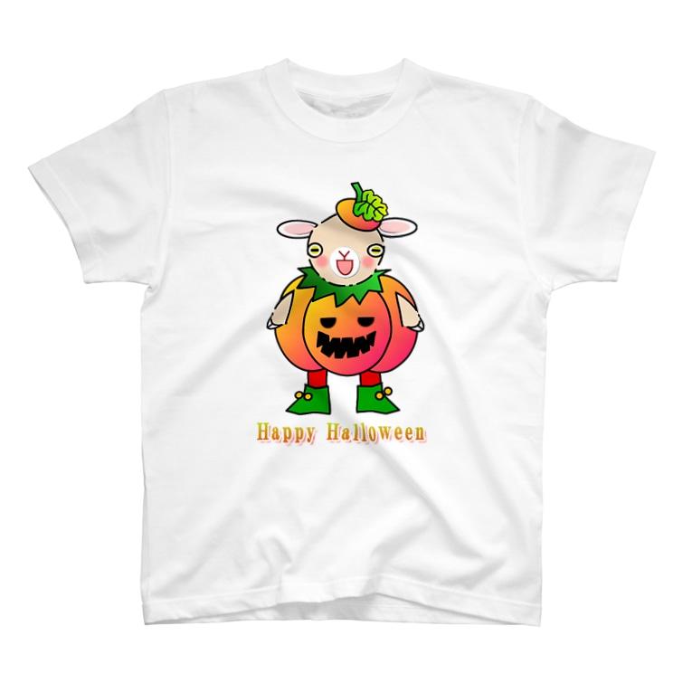 🏠やしおこうの秘密基地のポリー・ドーセットの楽しいハロウィン T-shirts