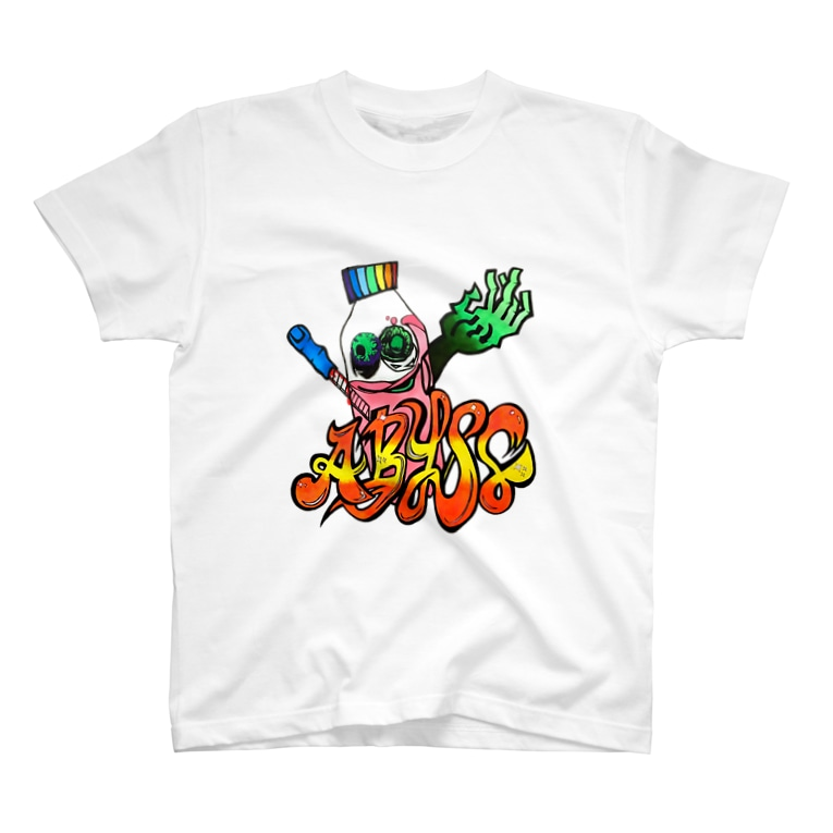 ABYSSのGhost of a plastic bottle T-shirts