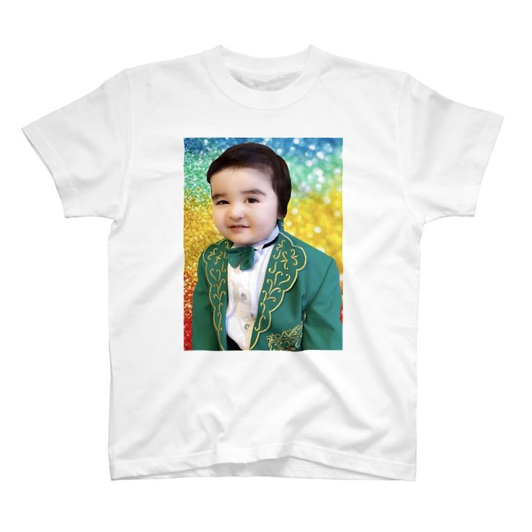 I can change this world⚜のサイラスくん T-shirts