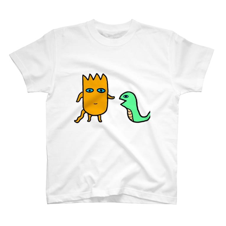 mogrus Goods shopのモグT(ビーヘー) T-shirts