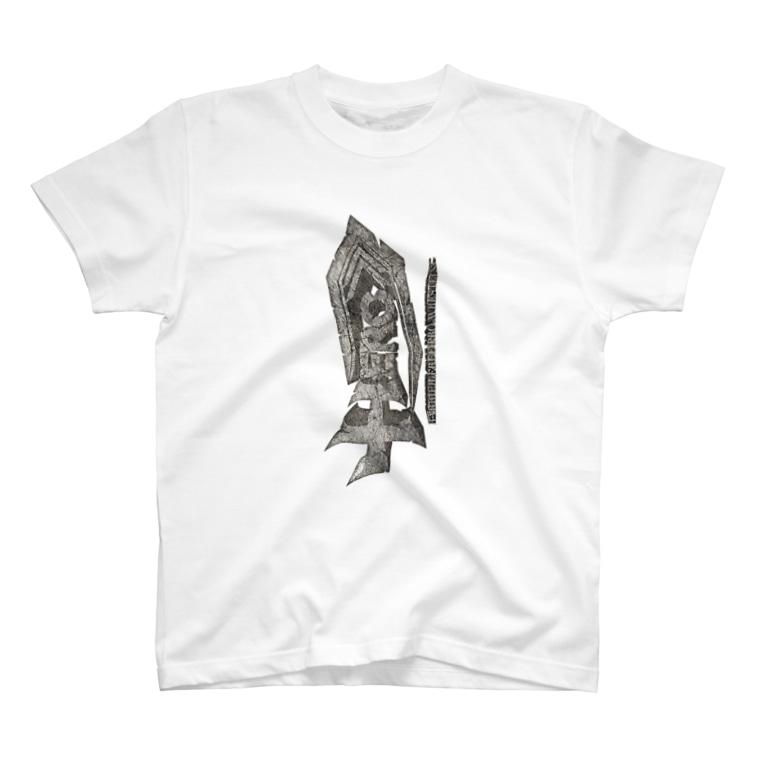 HEROバリアフリープロレスのバリアフリープロレスHERO3Dロゴ T-shirts