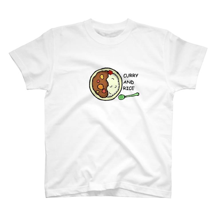 yuccoloのカレーライス T-Shirt