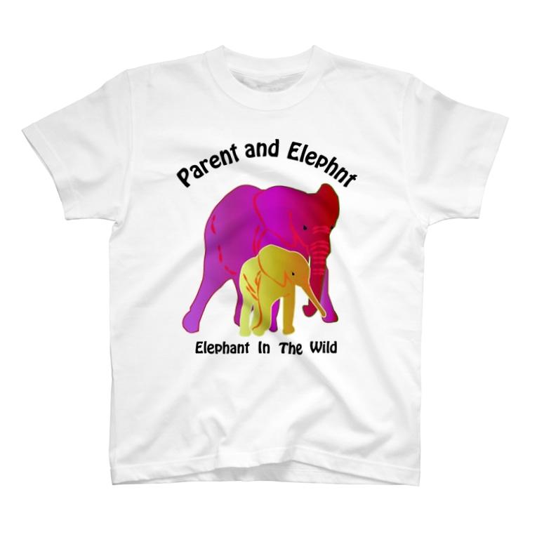 MOBの親子の像 T-shirts