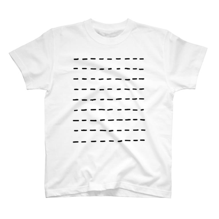 菅原商店のComic Line - 3 T-shirts
