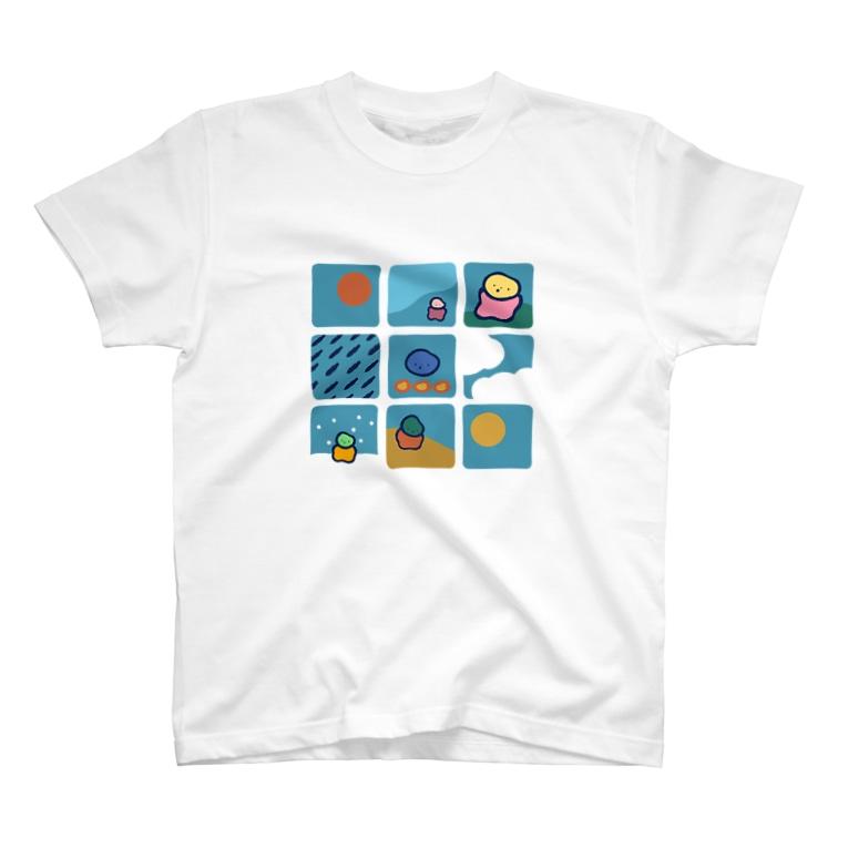 homeの︵︵︵'' T-shirts